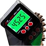 S&F STEAD & FAST Digital Angle Finder Gauge Magnetic Protractor Inclinometer Angle Cube Level Box with Magnetic Base and Back