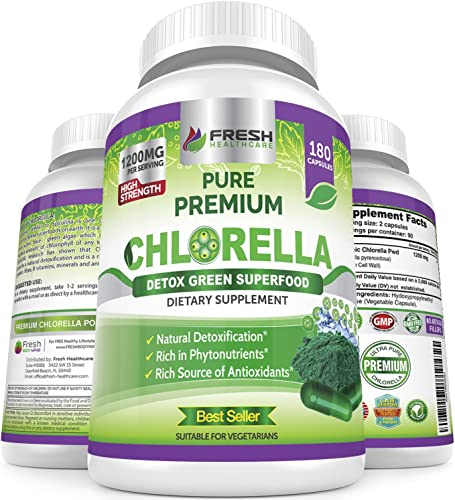 Premium Chlorella Supplement