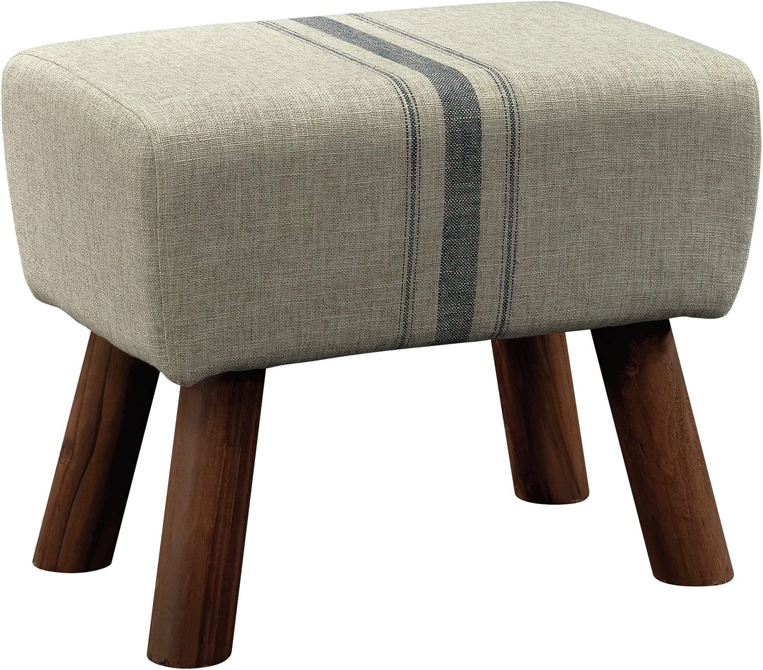 Sauder New Grange Accent Stool, Beige finish