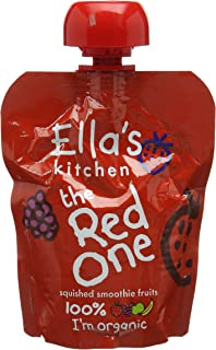 Ella/'s Kitchen Fruit Smoothie 3 x 90g The Red One