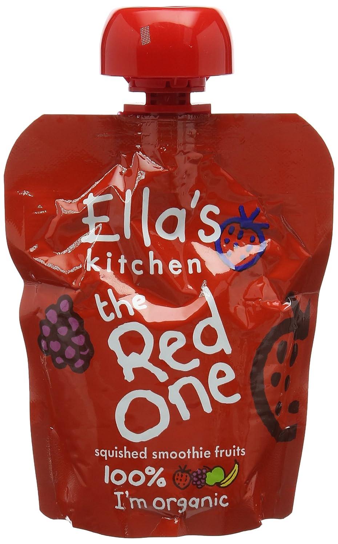 Ella's Kitchen Organic The Yellow One Smoothie Fruits 90 g (Pack of 12) Ella' s Kitchen EK053