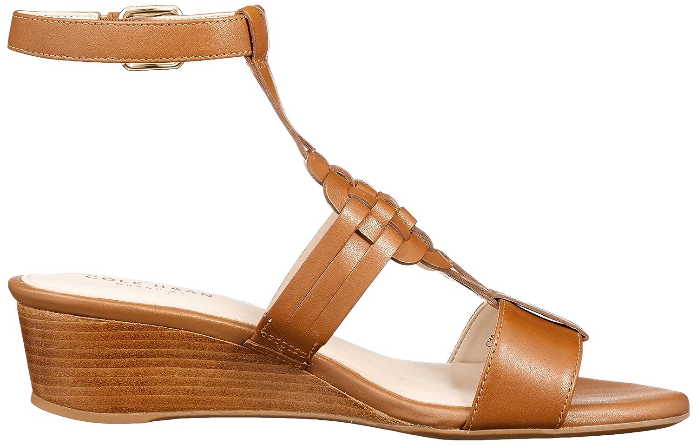 Cole Haan Womens Findra Woven Slide Wedge Sandal B07CBZML3L 10 B(M) US British Tan