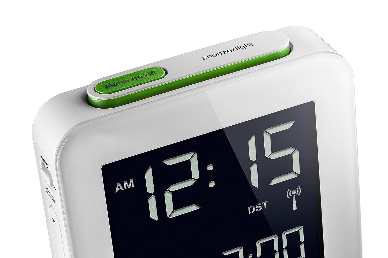 BRAUN BNC009WH-RC -Reloj Despertador Digital