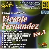 Karaoke: Vicente Fernandez, Vol. 3 - Latin Stars Karaoke