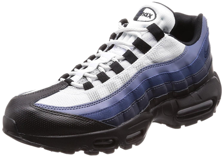 Nike Herren Air Max 95 Essential Sneakers  39 EU|Schwarz (Black/Obsidian/Navy Blue/Pure Platinum 028)