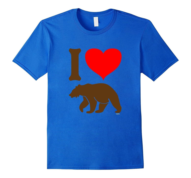 Heart design t shirt - Mens I Love Bears I Heart Bears Lgbt T Shirt Best Design T