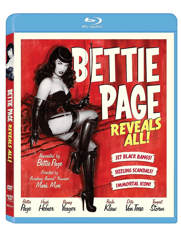 Bettie Page Reveals All Edizione: Stati Uniti USA Blu-ray: Amazon.es: Hugh Hefner, Natasha Blake, Shalom Harlow, Chennin Blanc, Dizzy Blond, Todd Oldham, ...