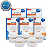 BRITA MAXTRA+ Limescale Water Filter Cartridge Refill with Microflow Technology 5 Pack