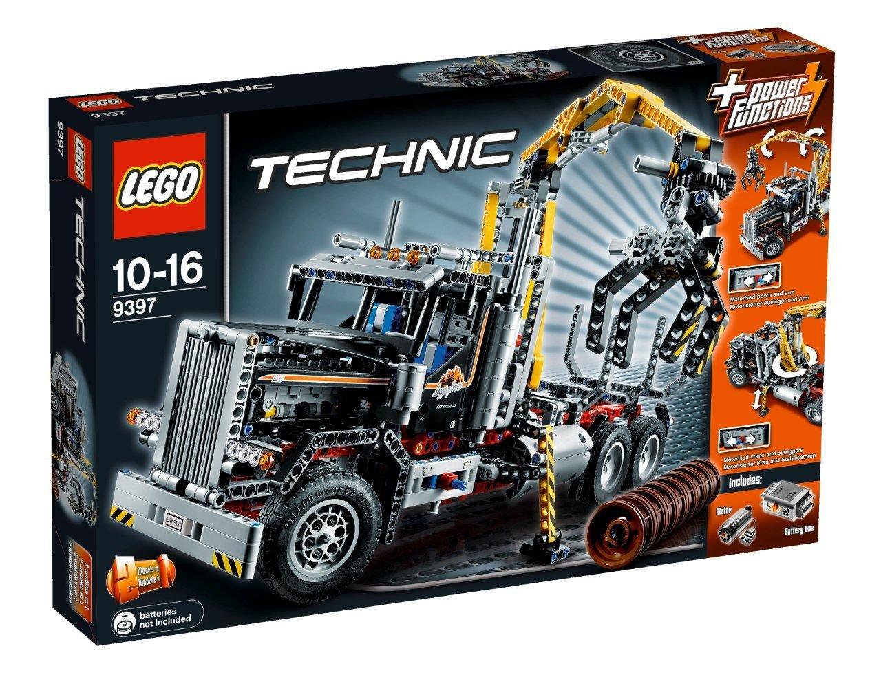 LEGO Technic Camión de transporte de troncos