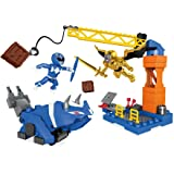 Mega Construx Mighty Morphin Power Rangers Blue Ranger Battle