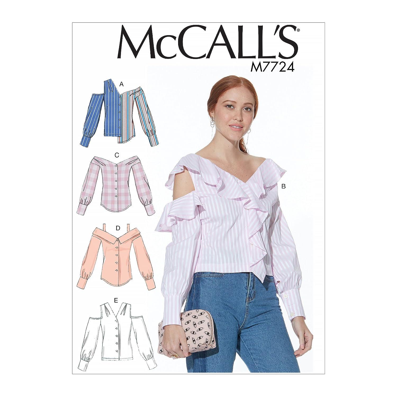 MCCALL \'s Patrones de Costura para Camisetas patrón de Costura ...