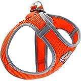 Kruz PET KZA306-08M Reflective Mesh Dog Harness, No Pull, Quick Fit, Comfortable, Adjustable Pet Vest Harnesses for Walking,