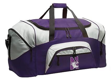 Amazon.com   Broad Bay Large Northwestern University Duffle Bag ... 99d17be409897