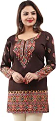 Unifiedclothes Women Fashion Pakistani Indian Kurti Tunic Kurta Top Shirt Dress 162C