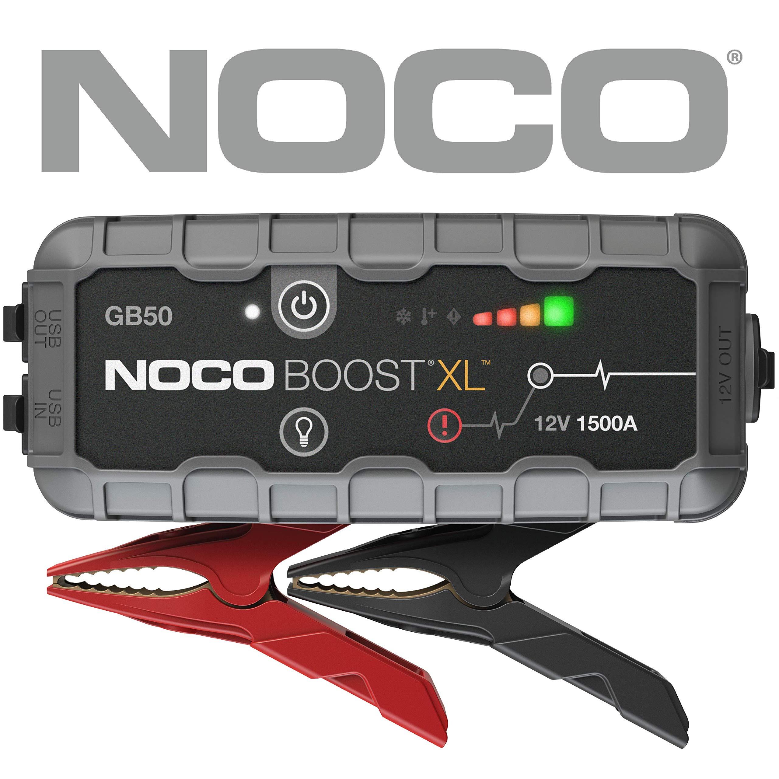 NOCO Boost XL GB50 1500 Amp 12V UltraSafe Lithium Jump Starter