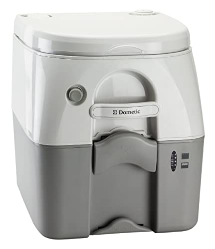 Dometic 301097606 Portable Toilet 5.0 Gallon, Gray