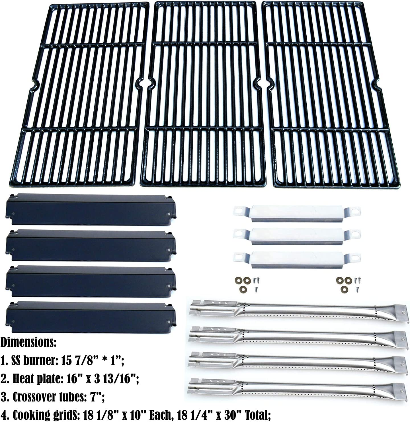 Replacement Charbroil Commercial 463268107 Gas Grill Repair Kit