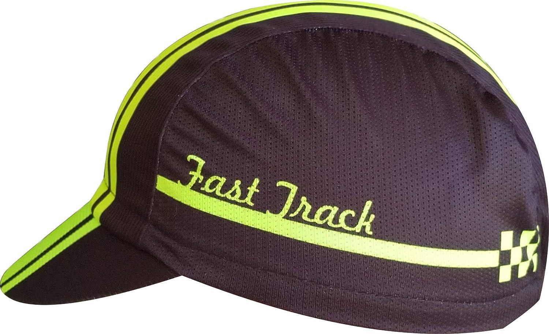 Il Trailrunning e Il Triathlon per Il Ciclismo Taglia Unica Cappellino microperforatto EKEKO Fast Track VSYSTEM la Corsa Gomma di Regolazione Posteriore.