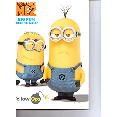 Despicable Me 2 Big Fun Coloring Book by Dalmatian Press: Toys & Games