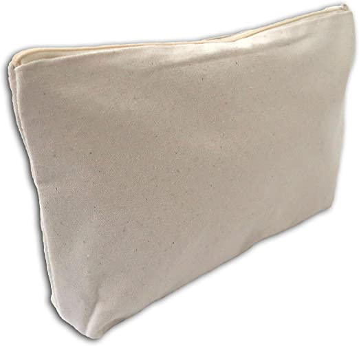 Mademoiselle Toga meru437 Neceser Fuelle algodón Blanco, 26 x 18 x ...