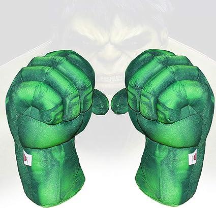 Amazon.com: Hulk Guantes de manos para niños Hulk Cosplay ...