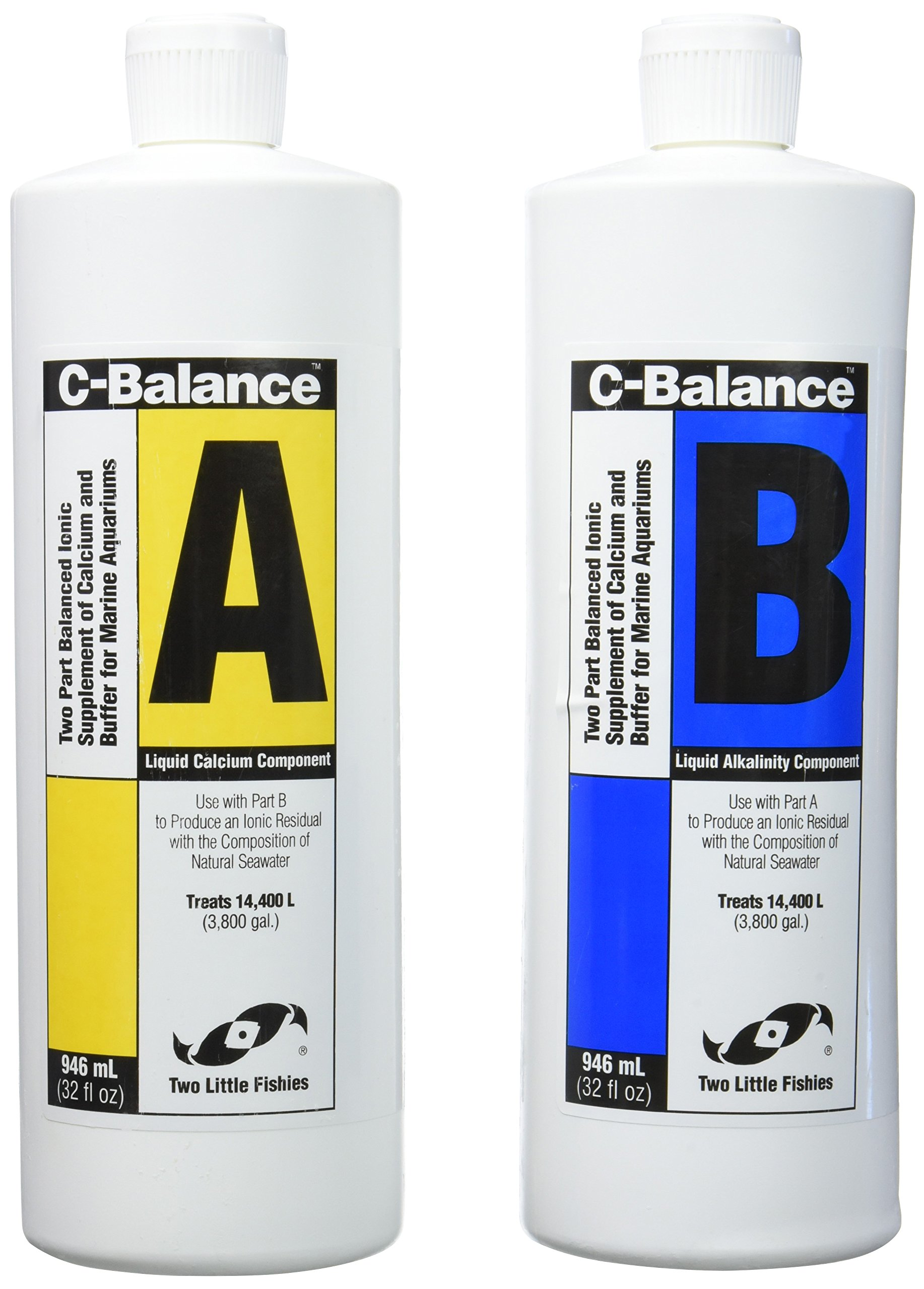 Two Little Fishies ATLCB2C C Balance, 32-Ounce, 2 Bottles