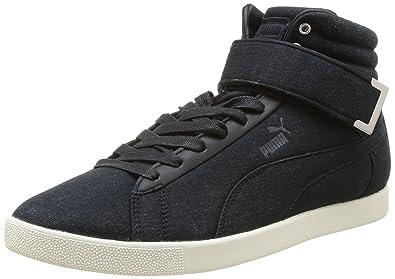 Puma Modern Court Hi 358607, Baskets mode homme - Noir (Black), 40