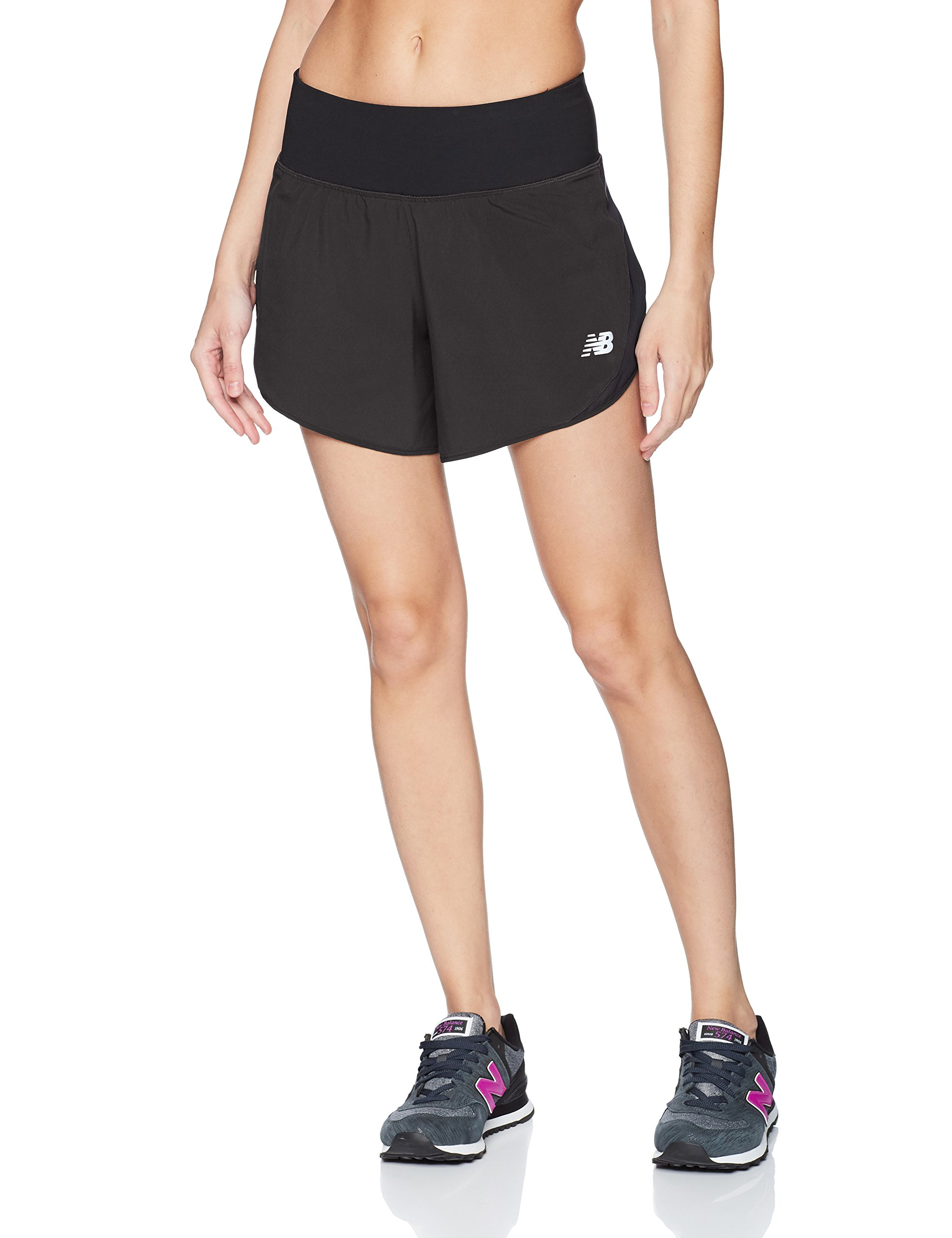 New Balance Impact Short 5 in, Black, Medium by New Balance