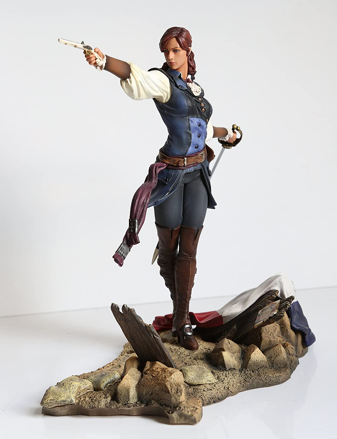Amazon Com Assassin S Creed Unity Figurine Elise The Fiery