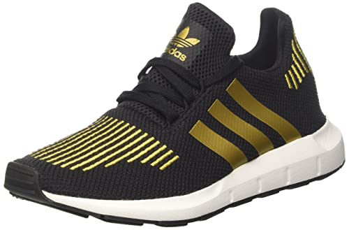 adidas Swift Run W, Scarpe da Ginnastica Donna, Nero (Core Black Gold Met