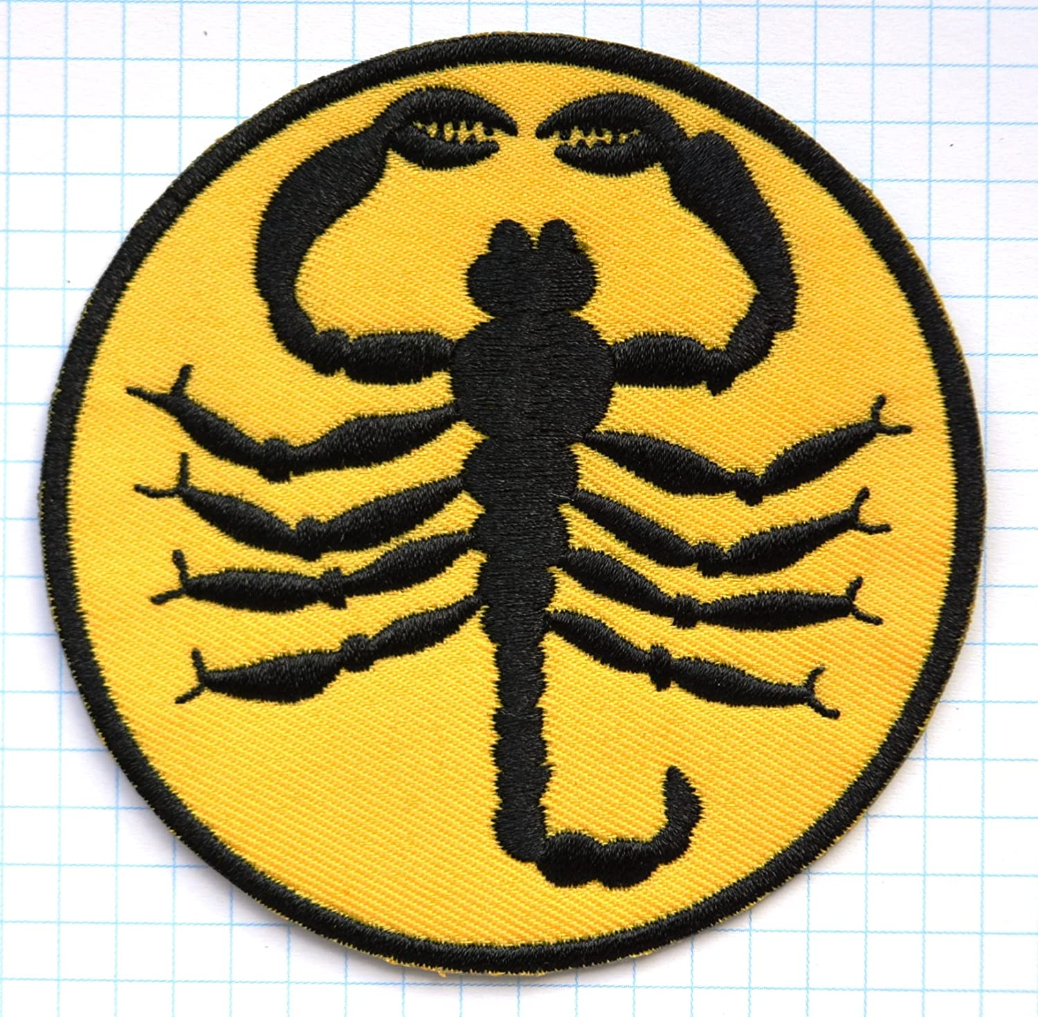 Scorpion Embroidered Cloth Iron On Patch