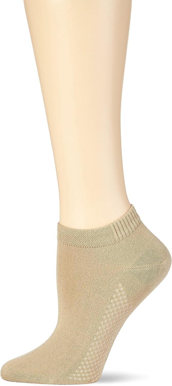 Nur Die Damen Air Comfort Sneaker Socke Calcetines cortos 39-42 para Mujer Beige lino 615