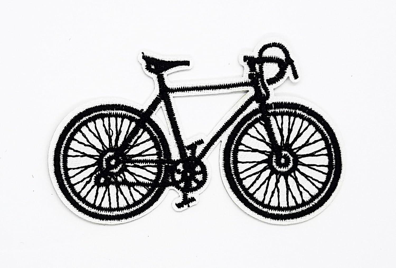 Parche para bicicleta de montaña RABANA negro con dibujos animados ...