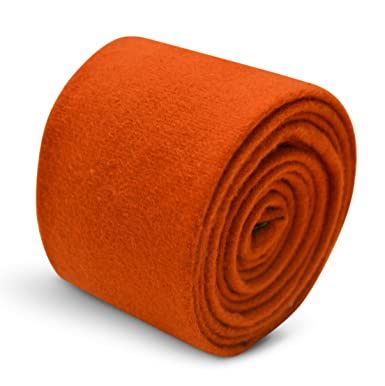 Frederick Thomas - Corbata - para hombre Naranja Naranja Quemado ...