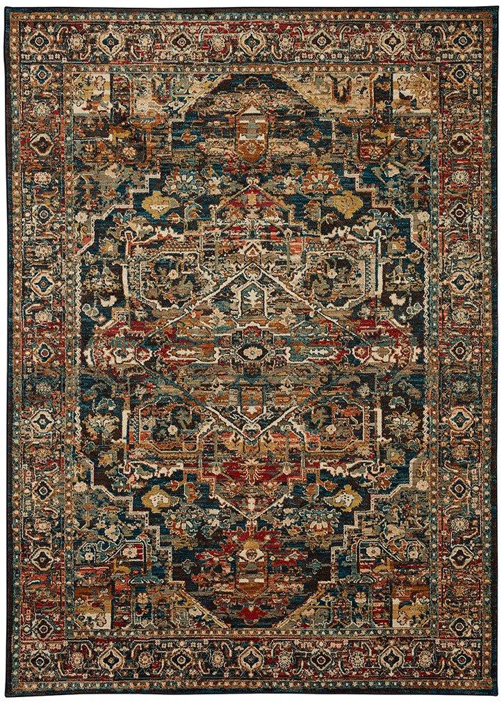 Karastan Spice Market Woven Alcantara Saphire 8'x10' - Area Rugs by Karastan