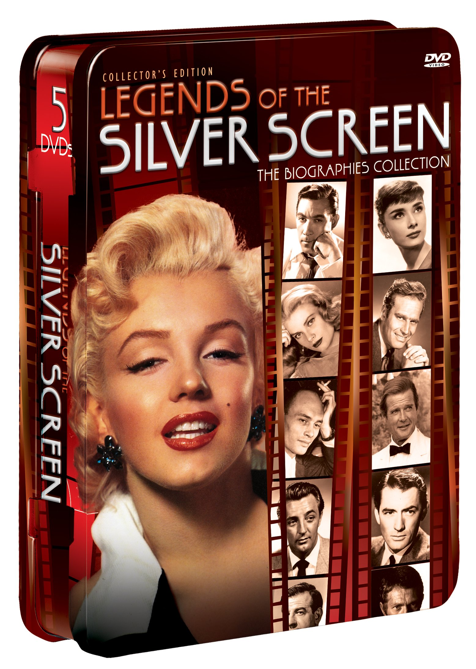 Legends of the Silver Screen (5-pk)(Tin) by IMAGE ENTERTAINMENT