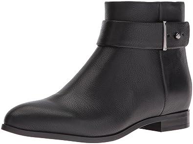 Nine West Women's Objective Leather Boot, Black, ...