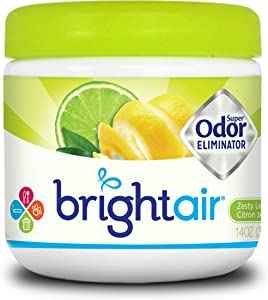 Bright Air 900248 Zesty Lemon and Lime Scent Air Freshener, 1 Pack