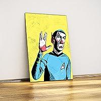 Javvuz - Mr. Spock Star Trek - Metal Plaka