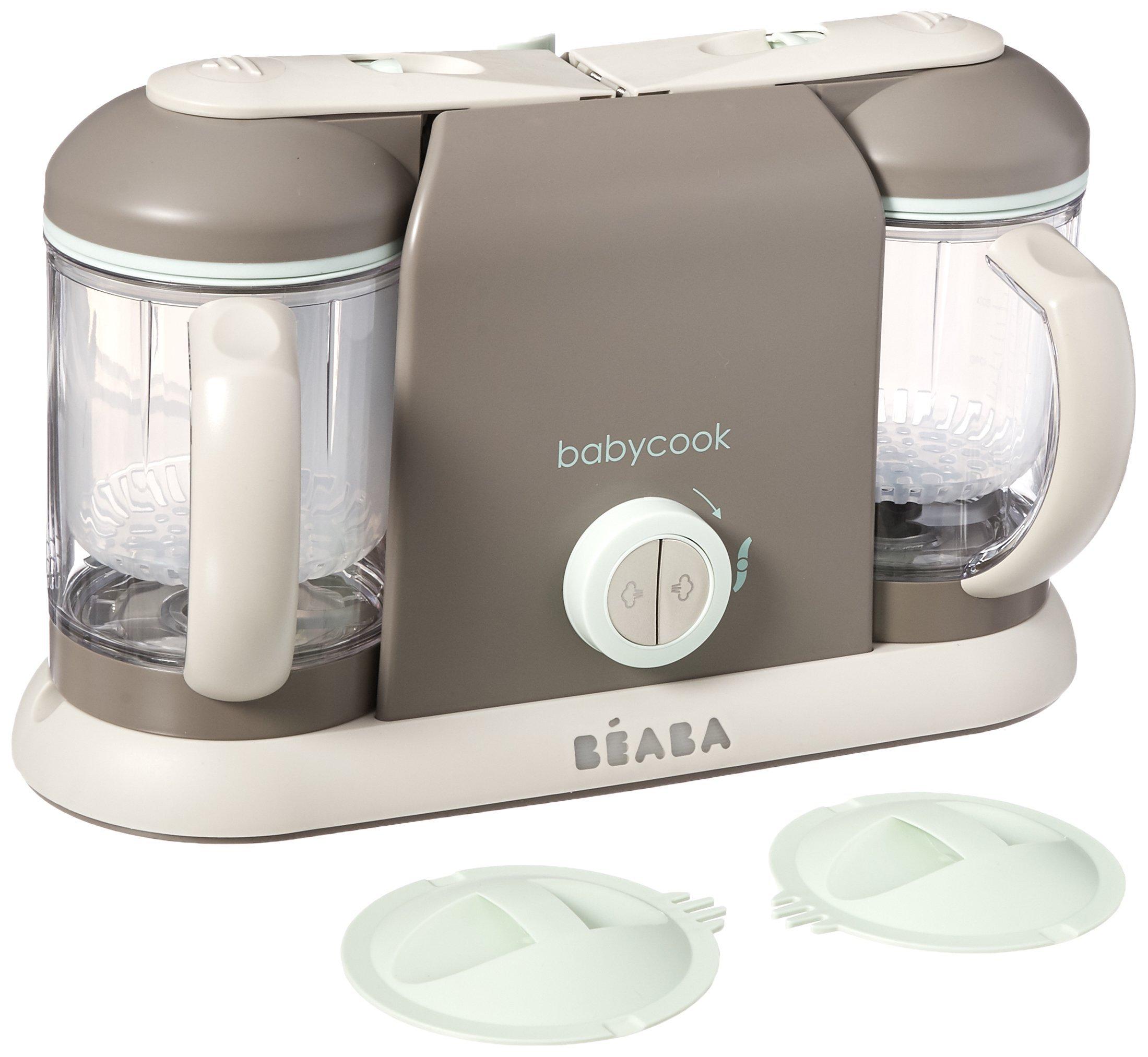 BEABA Babycook Pro 2X, Latte Mint (Renewed)