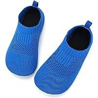 STQ Zapatillas antideslizantes para niños y niñas, cómodas, para casa