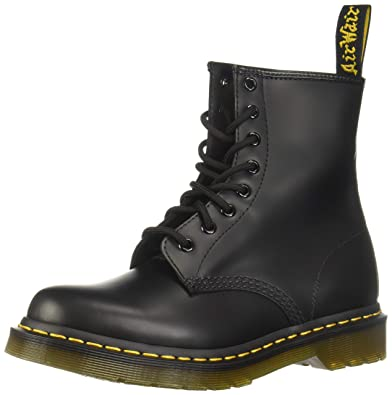 f91b876a047 Dr. Marten's Women's 1460 8-Eye Black Smooth Leather, 11 B(M) US Women / 10  D(M) US Men