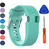 BeneStellar Newest Fitbit Charge HR Band, Silicone Replacement Small Large Band Bracelet Strap for Fitbit Charge HR Wireless Activity Wristband
