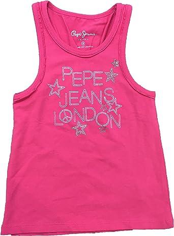 Pepe Jeans - Camisa DE Tirantes Rosa: Amazon.es: Ropa y accesorios