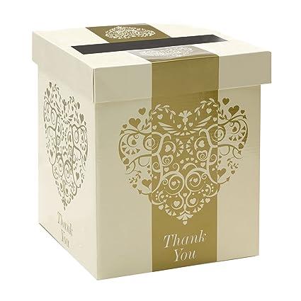 Amazon Com Alleszurhochzeit Vintage Romance Ivory Gold Wedding Card