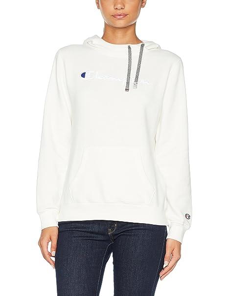 buy popular df9de 07415 Champion Hooded Sweatshirt-Institutionals Felpa Donna