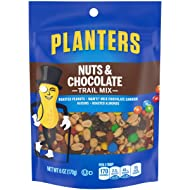 Planters Nuts & Chocolate M&M Trail Mix, 19 Ounce, Pack of 3