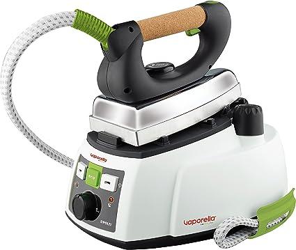 Polti Vaporella 535 Eco Pro Centro de planchado a vapor, 4 bar presión, 1750 W, 0.9 Litros, Función ECO, Aluminio, Verde y Blanco, 25 x 35 x 27 cm: Amazon.es: Hogar