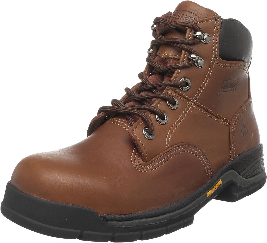 b50e0b14ebd Men's Harrison W04904 Work Boot,Brown Leather,11.5 M US