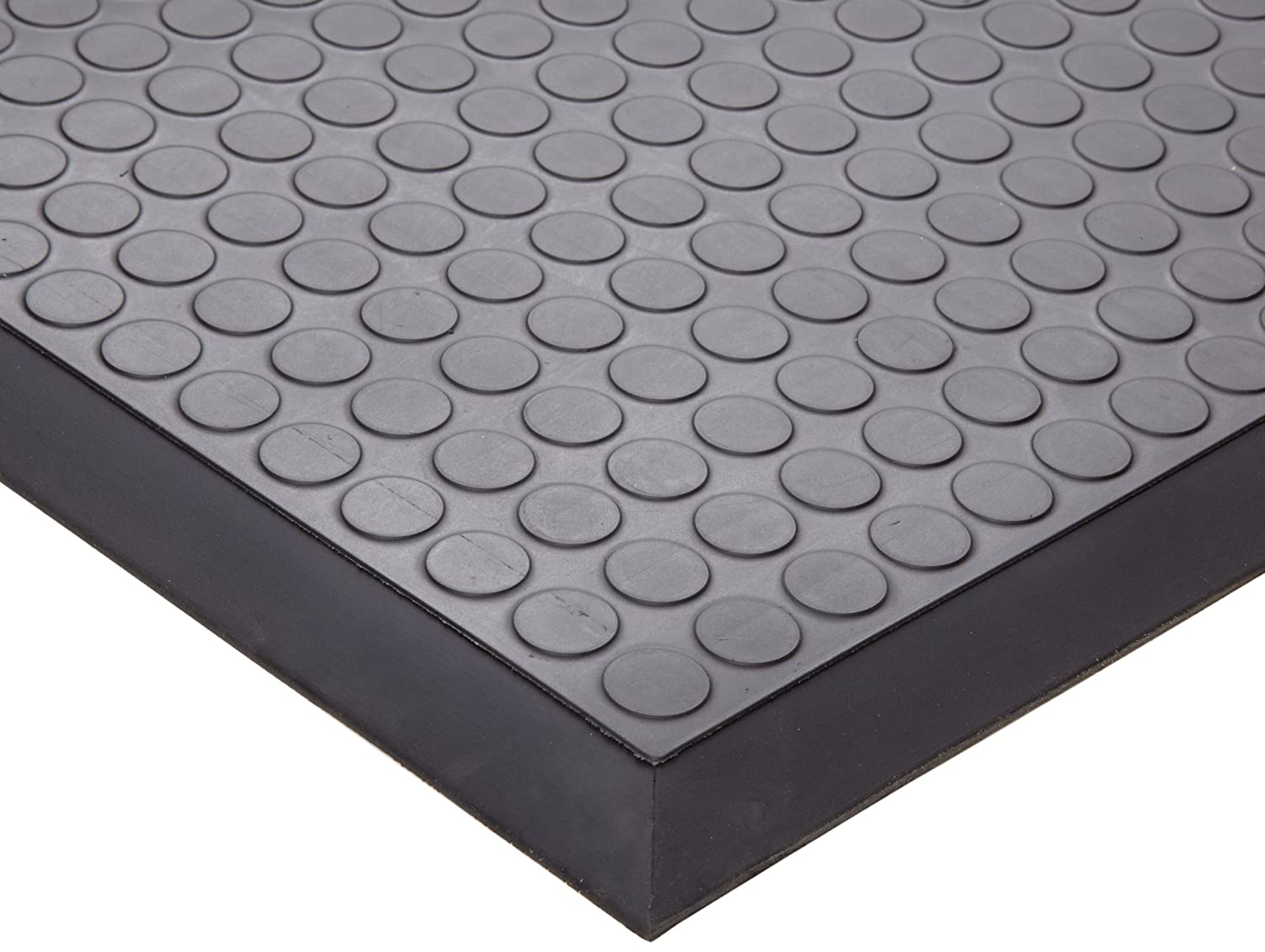 Anthracite 2 Width x 13 Length x 0.43 Thickness for Non-Critical Environments Ergomat Polyurethane Anti-Fatigue Mat
